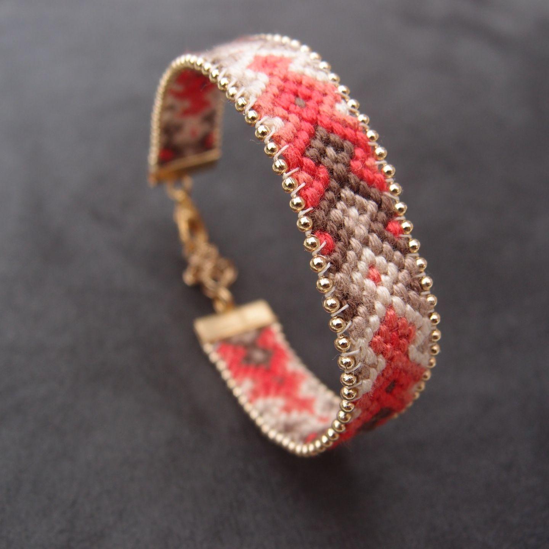 grandes variétés style attrayant nouveau sélection Bracelet brésilien perlé couleurs d'automne | Perles | Idées ...
