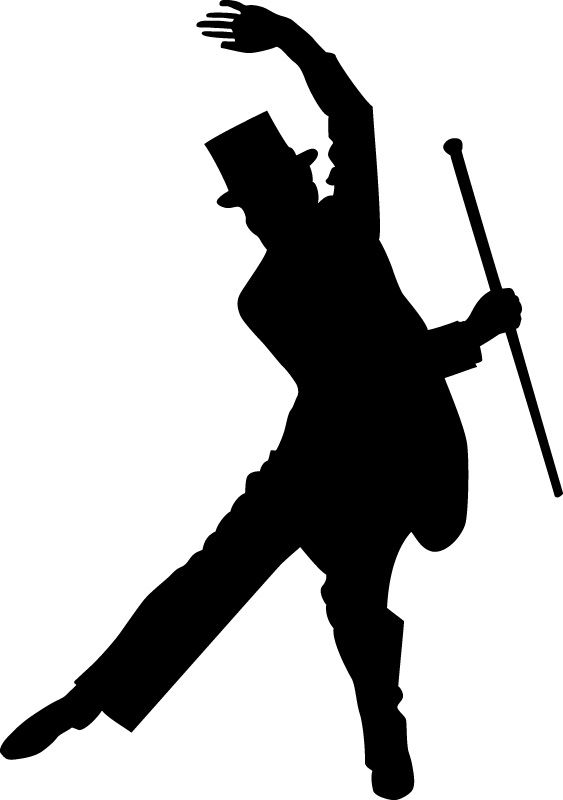 dancing man | Art - Silhouettes | Pinterest | Silhouettes ...