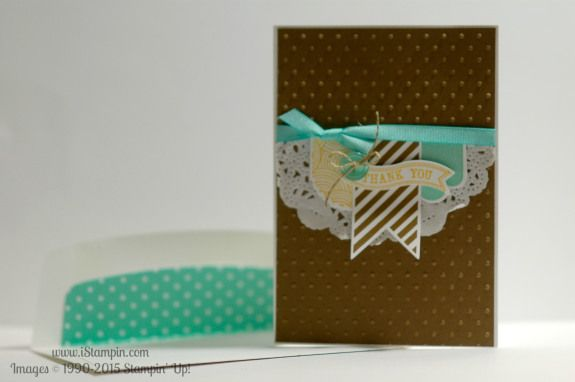 Inspired by a design by Leena Grisa. Visit www.iStampin.com to learn more about the products used. #iStampin #SU #stampinup