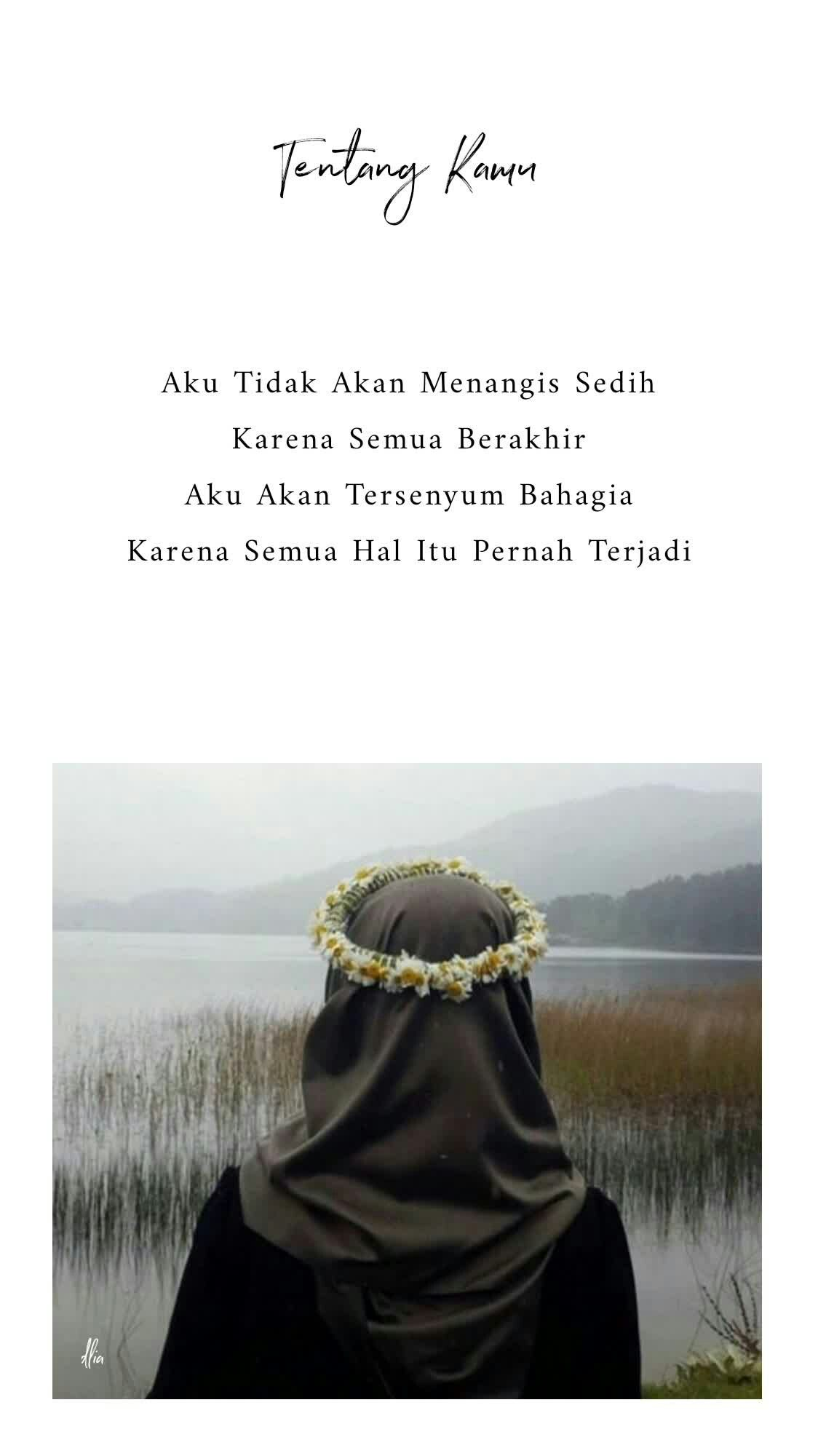 Quote From A Book Tentang Kamu Karya Tere Liye Terimalah Yang