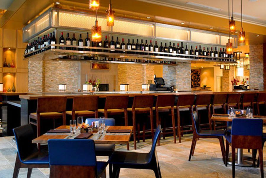 Superieur Luxury Elegant Cafe And Bar Interior Design Of The Westin Verasa Napa .