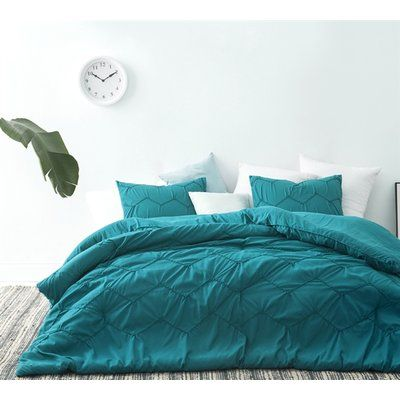green bed sheets texture bed blanket langley street blaine textured waves piece comforter set size in 2018