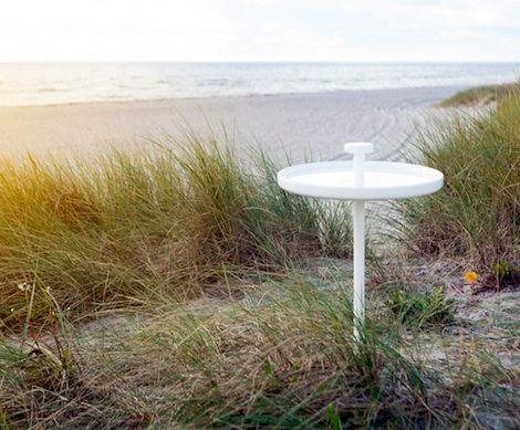 Pin picnic table by Andreas Engesvik