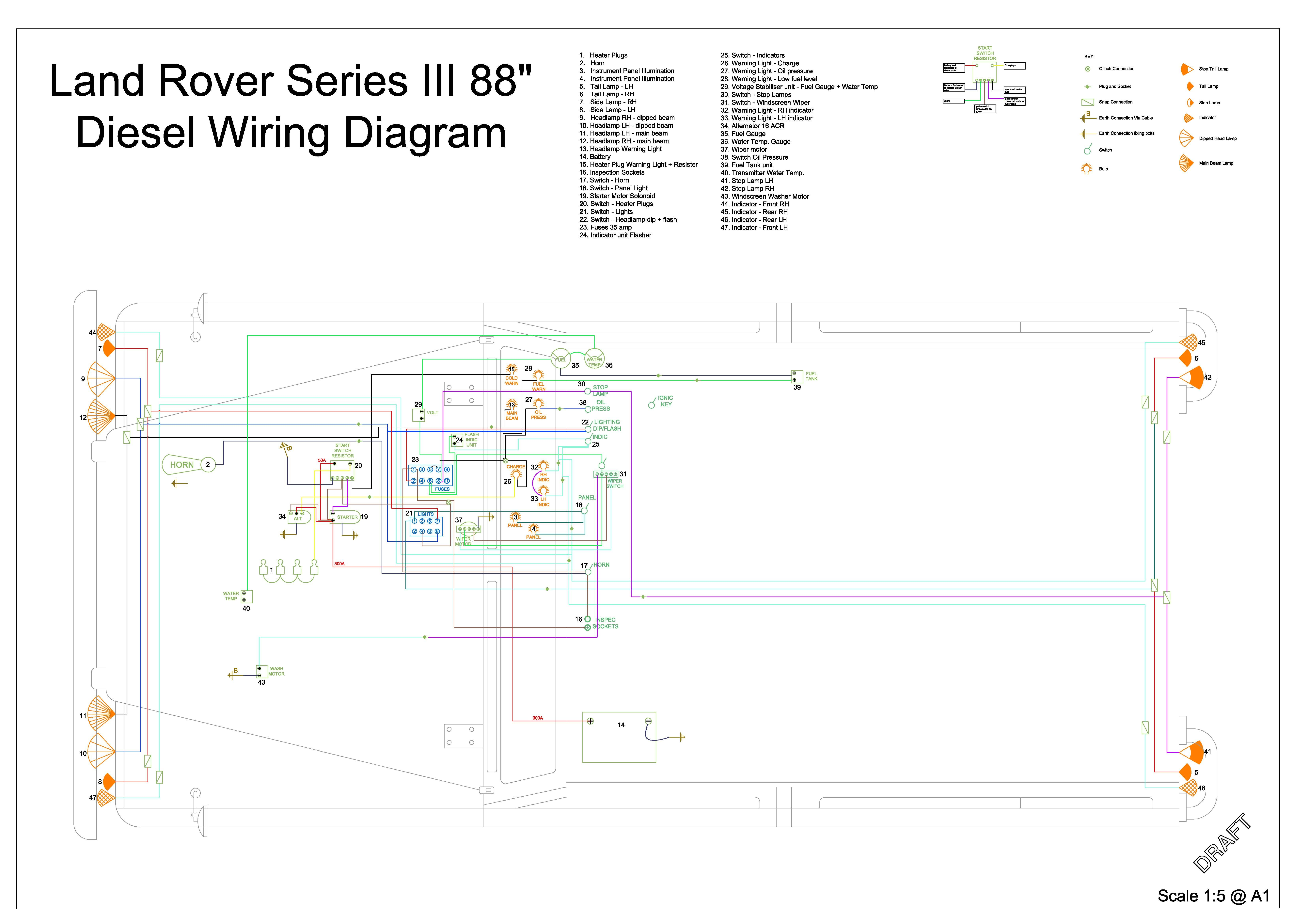 Military Land Rover Wiring Diagram | Wiring Liry