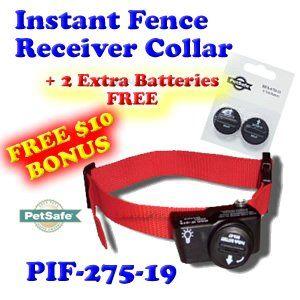Pet safe PIF-275-19   2 Free Batteries