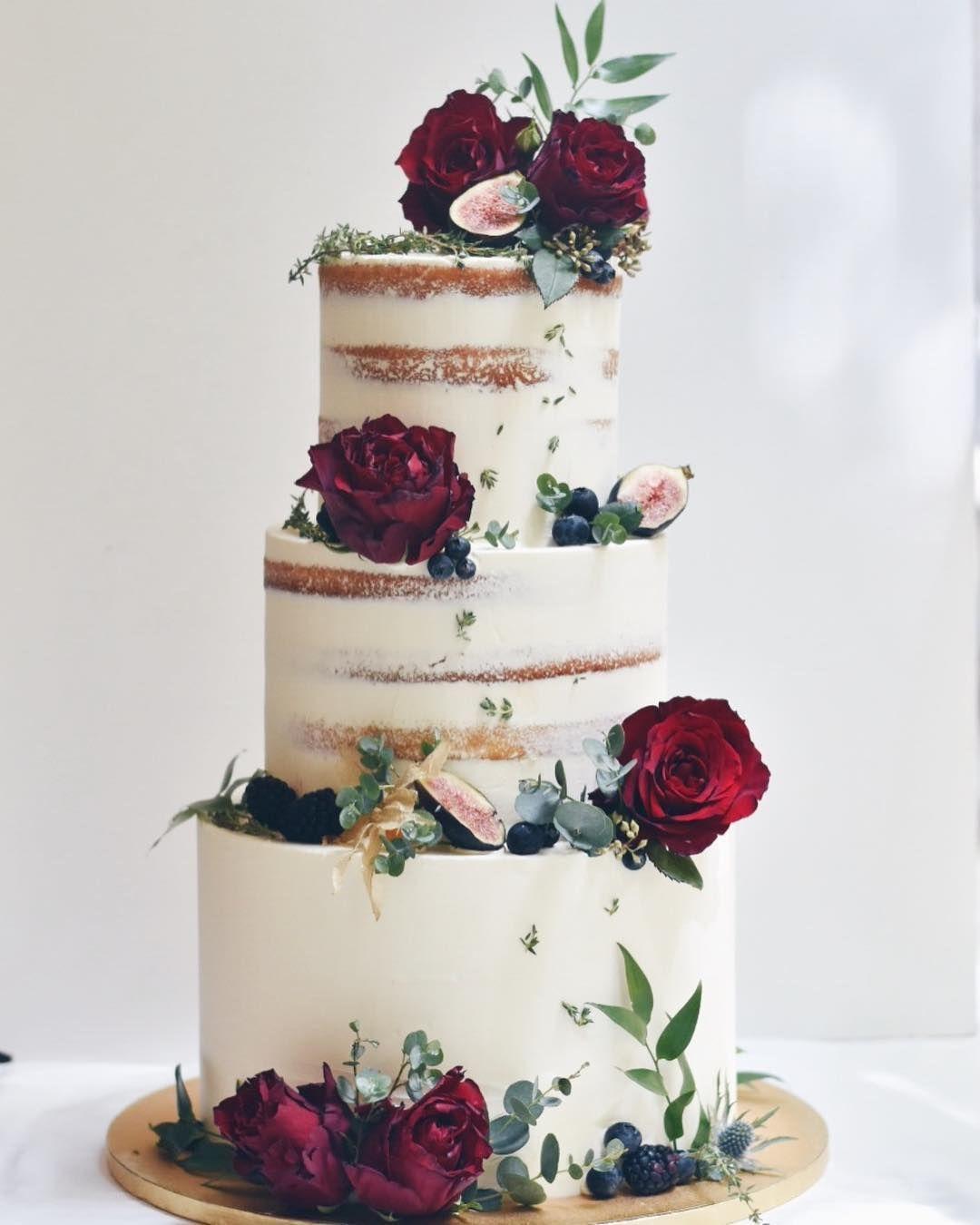 Birch Bark Wedding Cake - CakeCentral.com