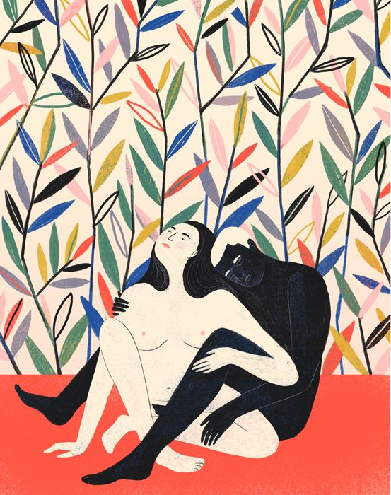 MANGO & PAPAYA - illustration - Abbey Lossing