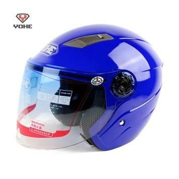 matte black Motorbike half face YOHE 837 Helmets ,cool summer motorcycle electri…