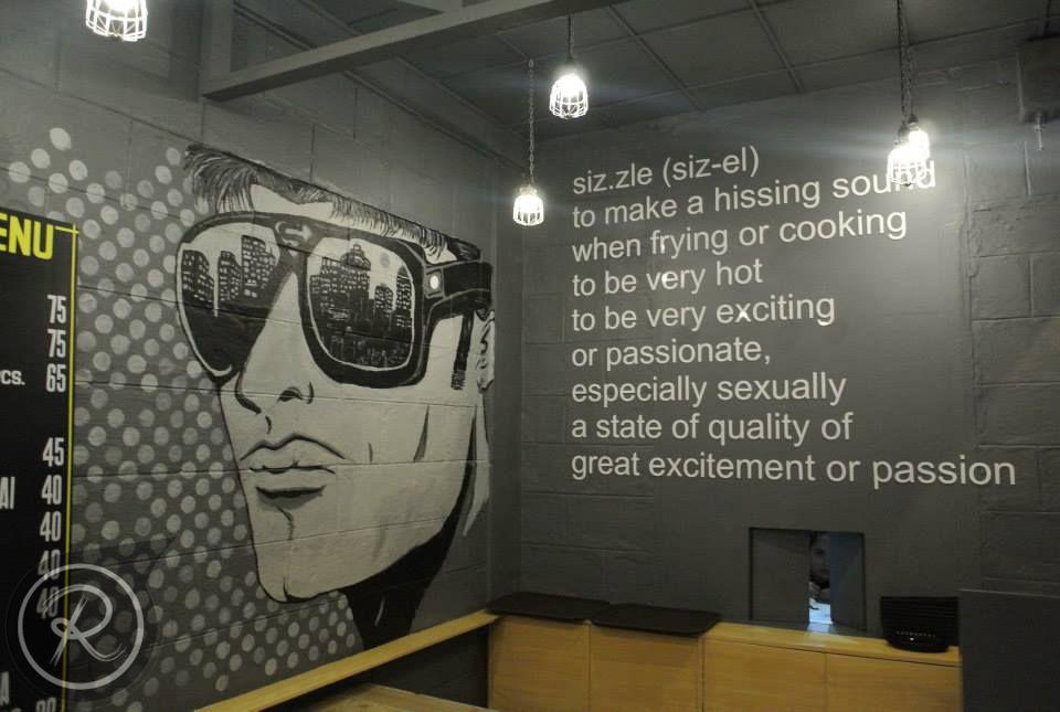 Restaurant Wall Art le Sizzle Restaurant Wall Art | Restaurant Wall ...