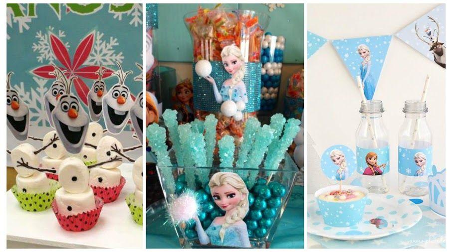 Imprimibles Y Manualidades Para Decorar Un Cumpleanos De Frozen