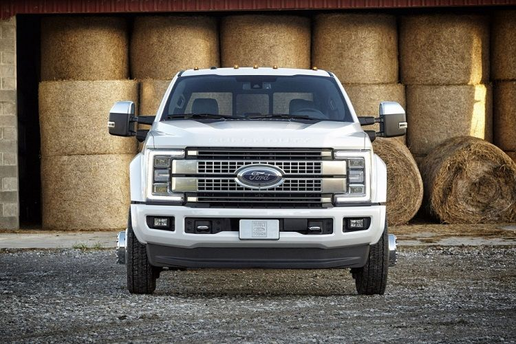 2018 ford diesel f350. unique ford 2018 ford super duty front view in ford diesel f350