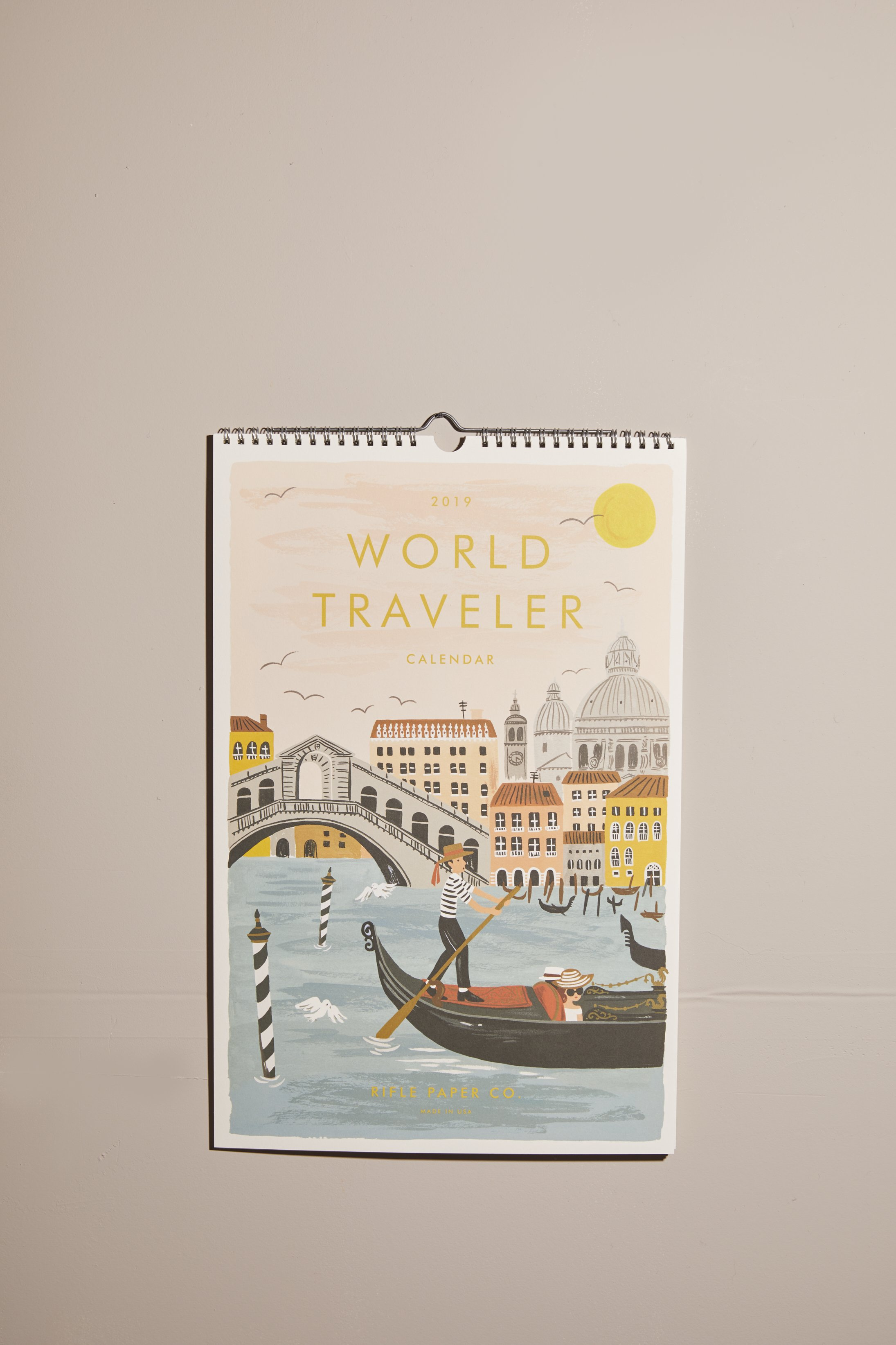 cb586ef38fcf 2019 World Traveler Wall Calendar
