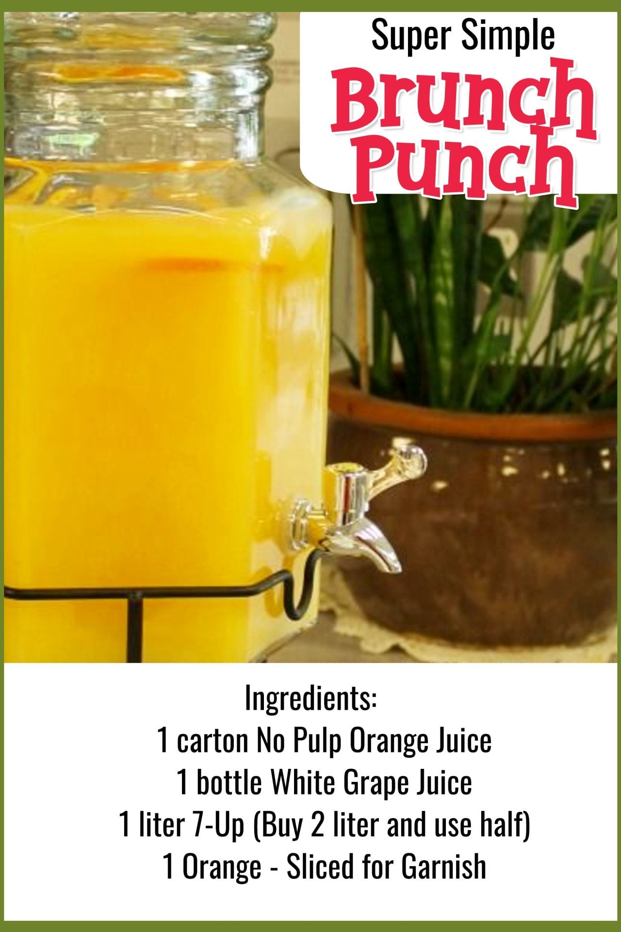 7 Easy Punch Recipes For a Crowd – Simple Party Drinks Ideas (both NonAlcoholic …