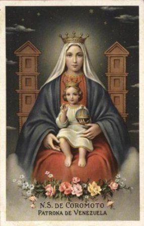 youtube video: Procesion de la Virgen de Coromoto en el Parque ...