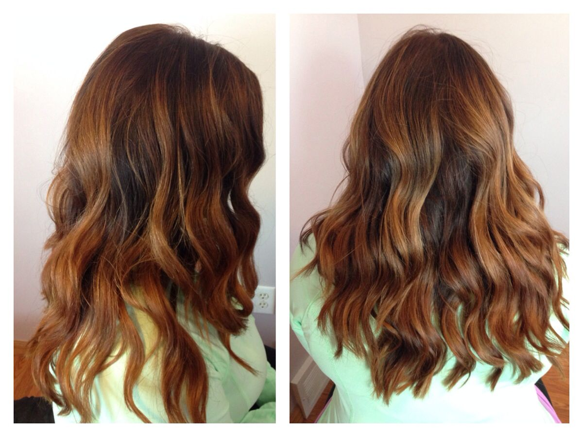 Ombr And Balayage Highlights Using Redken Flashlift Lightener