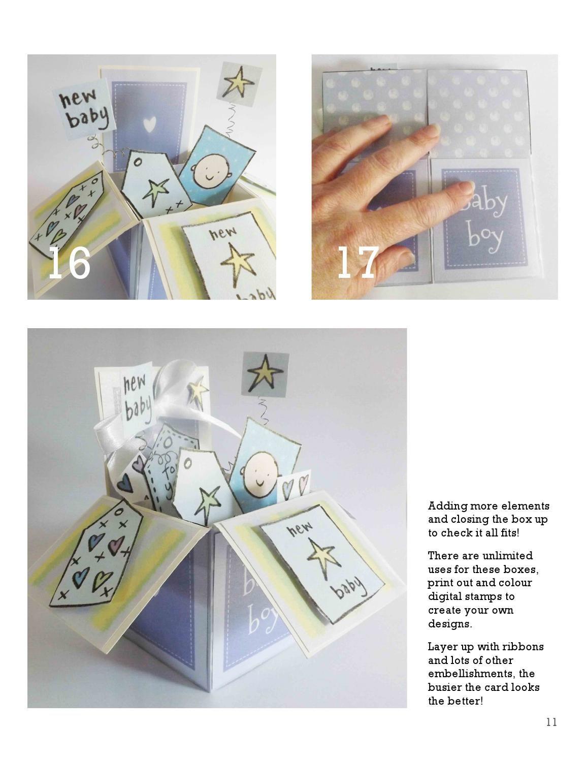 Pop Up Box Card Tutorial Box Cards Tutorial Pop Up Box Cards Card Box