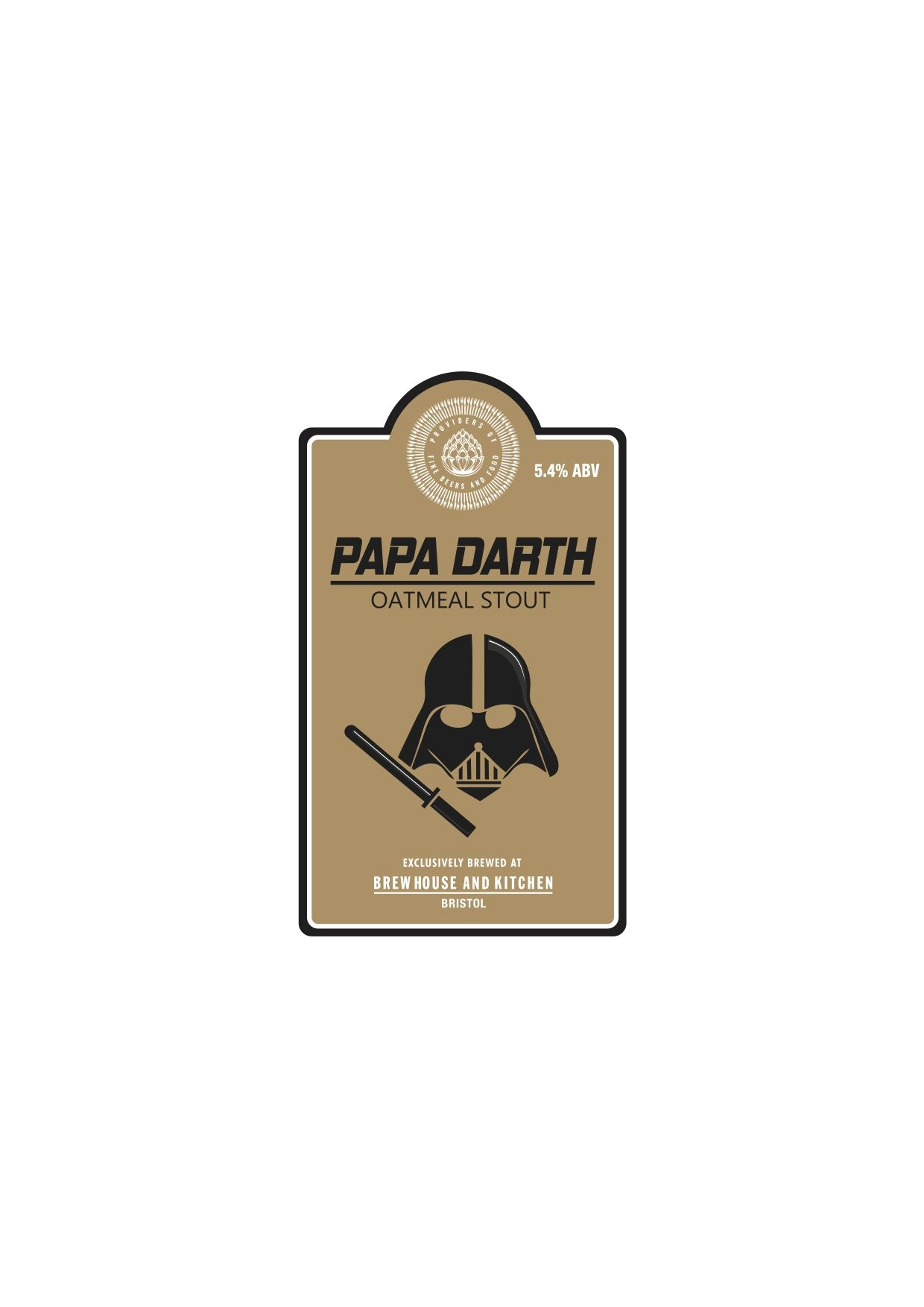 Papa Darth – Stouts & Porters - Oatmeal Stout 5.4% Papa Darth – our ...