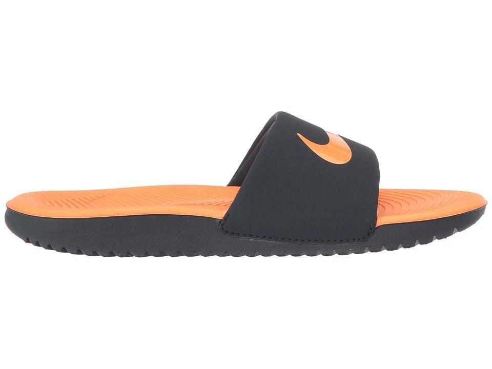 081e914052644d Nike Kids Kawa Slide (Little Kid Big Kid) Boys Shoes Anthracite Tart