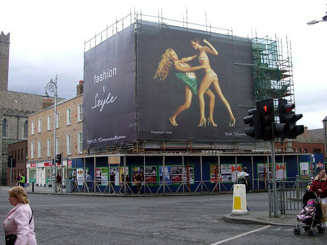 Advertising Scaffolding Banner Printing Advertising