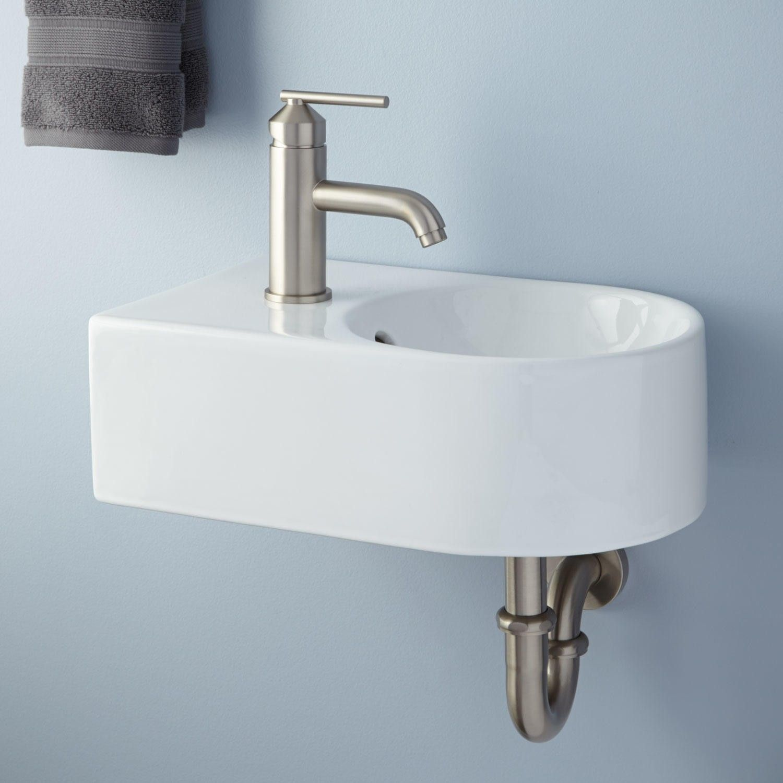 Hynek Wall Mount Bathroom Sink Bathroom Sinks Bathroom Small Bathroom Sinks Wall Mounted Bathroom Sinks Wall Mounted Sink