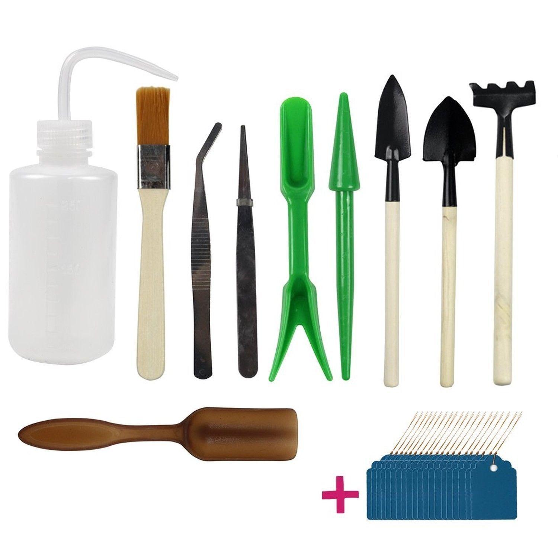 Zen Garden Tools Mini Fairy Gardening Kit Bonsai Miniature Hand Tool Plant  Care | EBay #