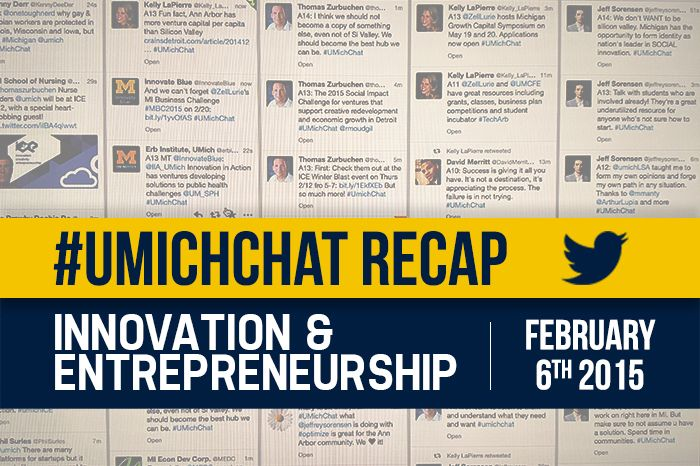 Entrepreneurship, innovation, and Michigan's future  Read more from