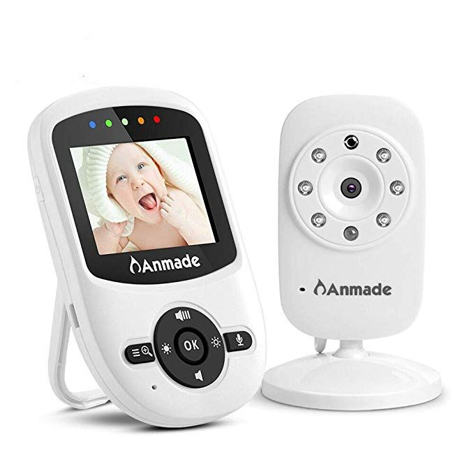 Video Baby Monitor, Anmade Baby Monitor with Camera 2.4