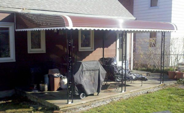 Aluminum made awning for homes. Great selection by elite ...