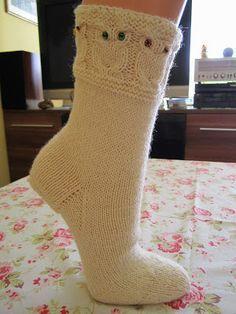 Eulensocken Owlsocks Anleitung Free Pattern Socken