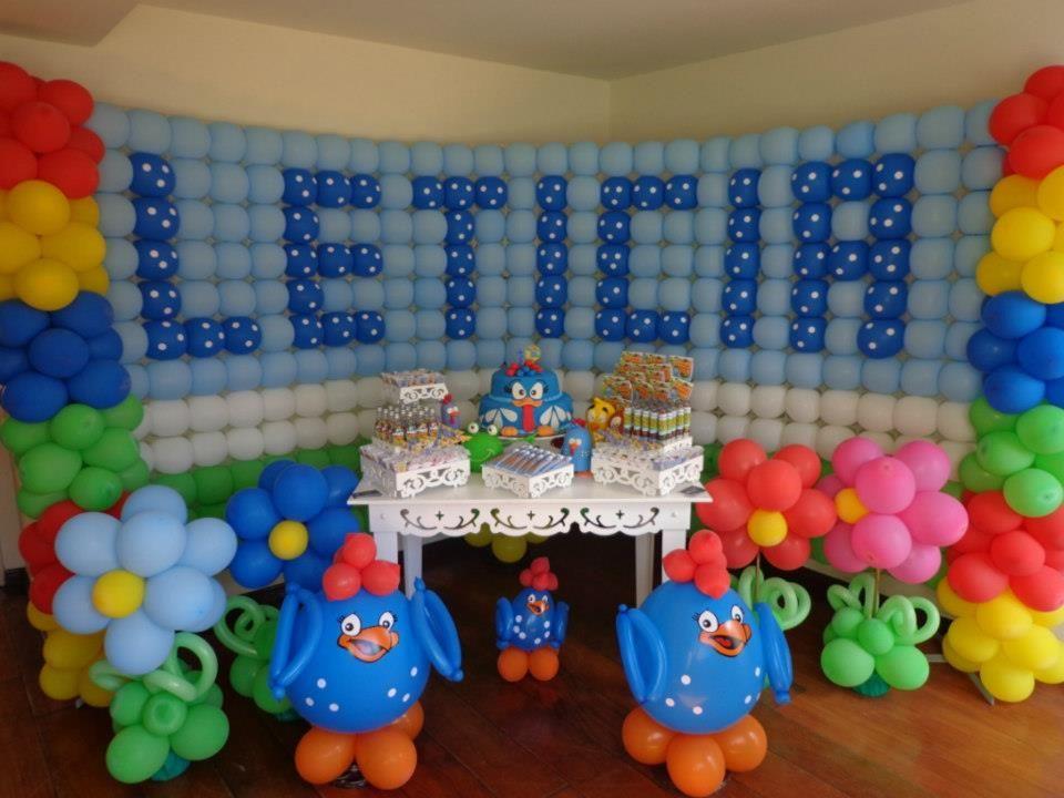 Festa de 1 Ano - Galinha Pintadinha