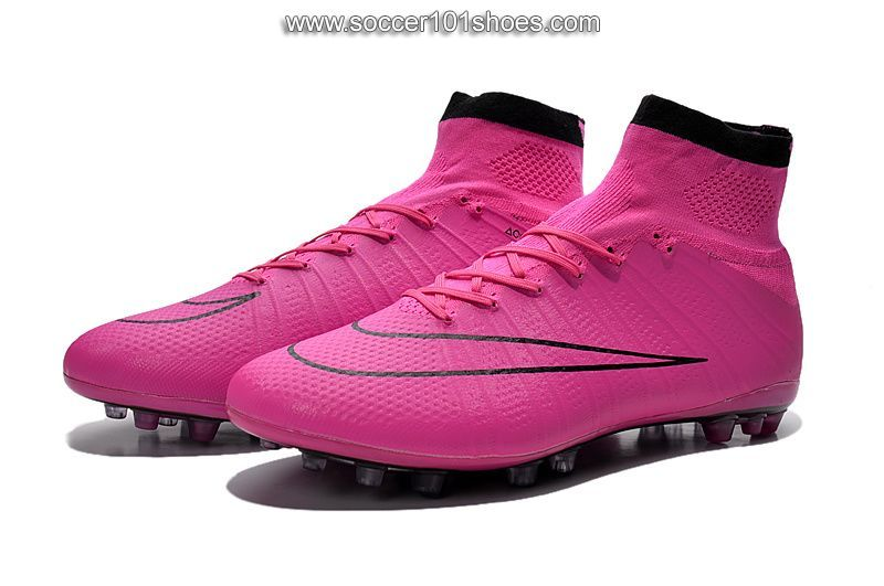 watch 04a88 46a05 Nike Men's Mercurial Superfly AG Hi Top Football Boot Soccer Cleats Hyper  Pink $76.00