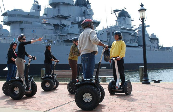 Take a segway tour of Norfolk! Say what?