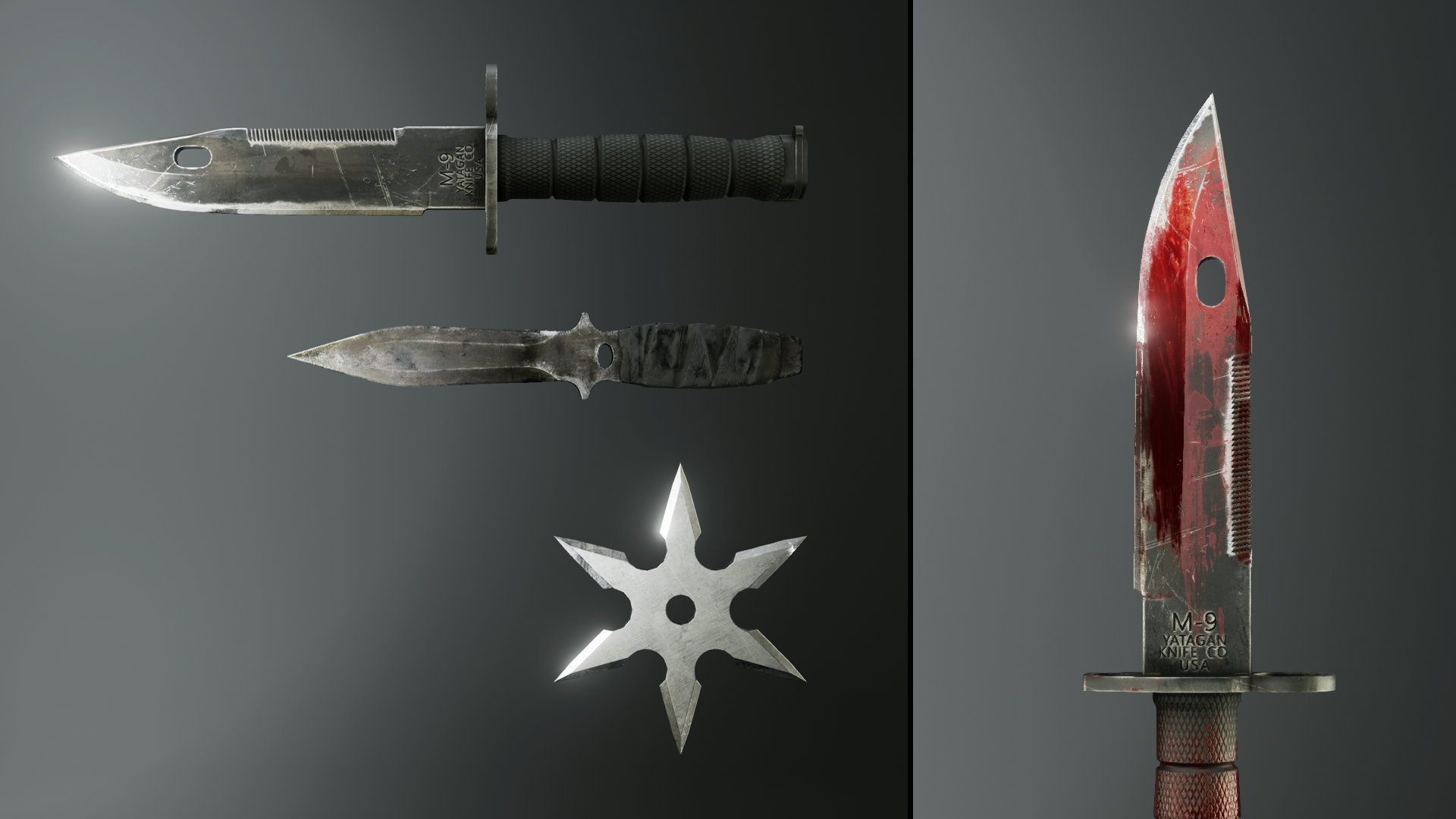 Free Melee Weapons Pack for UE4 by Karl Detroit | Weapon Art in 2019