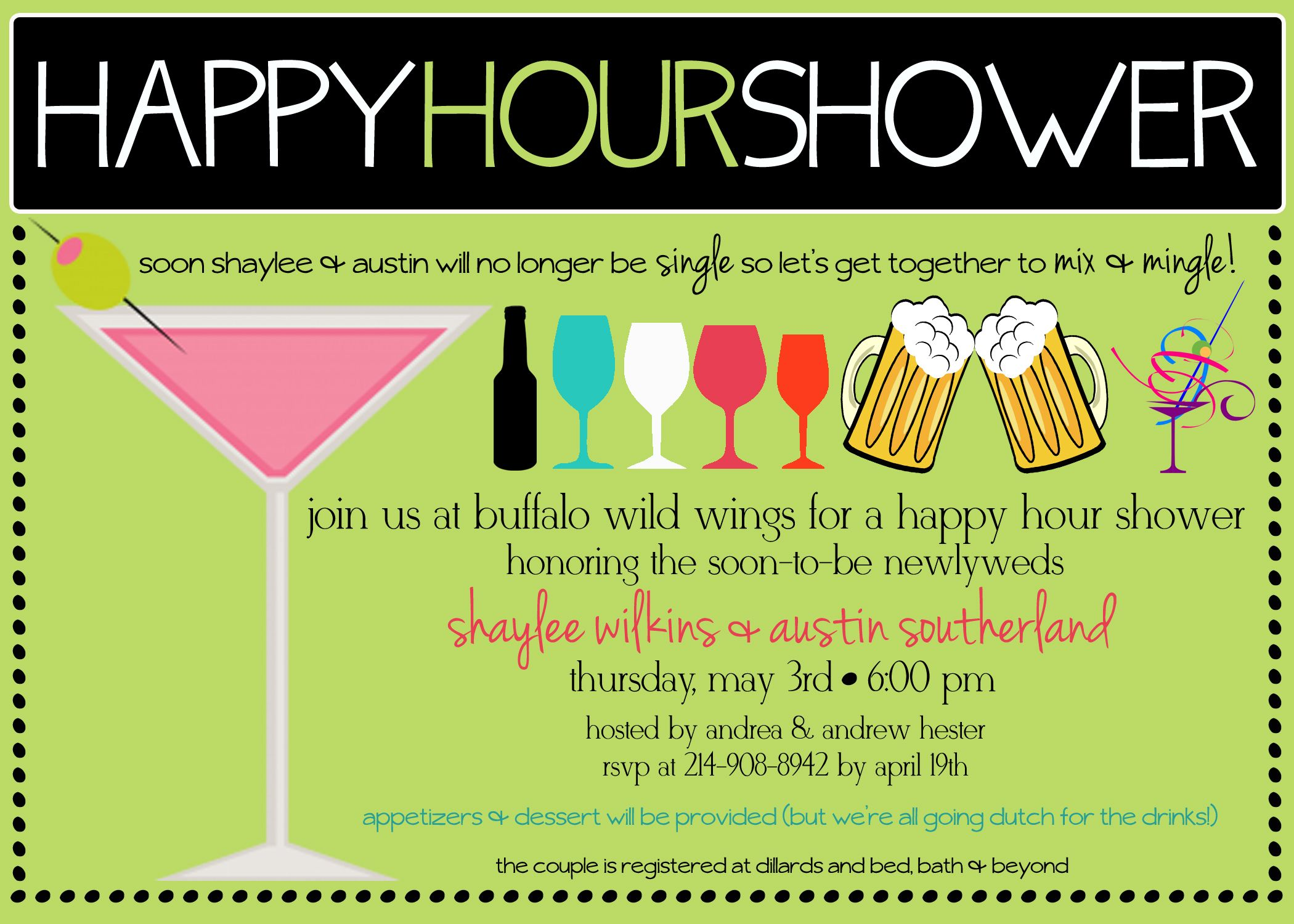 Happy Hour Showersthe Next Big Thing