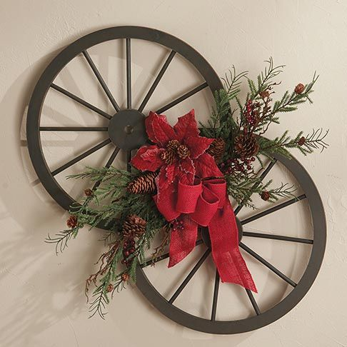 Wagon Wheel Wall Decor For Our