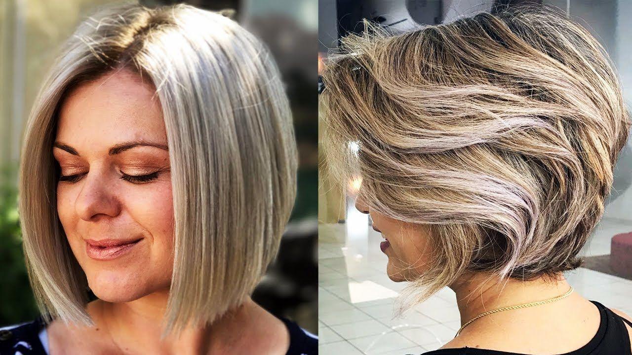 Hairstyles January 2019: SHORT BOB HAIRSTYLES FOR WOMEN 2018 & SHORT BOB HAIRCUTS