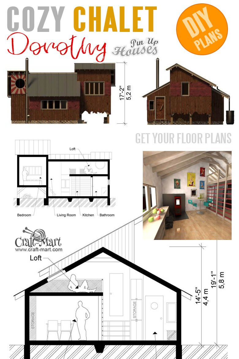 16 Cutest Small And Tiny Home Plans With Cost To Build Craft Mart Tiny House Plans House Plans Small House Plans