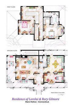 Dunphy Modern Family House Sök På Google Dream Houses Gilmore