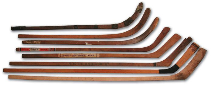 Vintage Hockey Sticks With Images