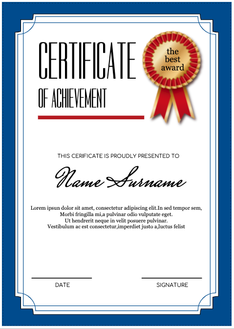 graphic certificate maker drawtify