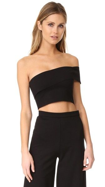 f565c2301b5 The Hours One Shoulder Crop Top | more clothes | Pinterest