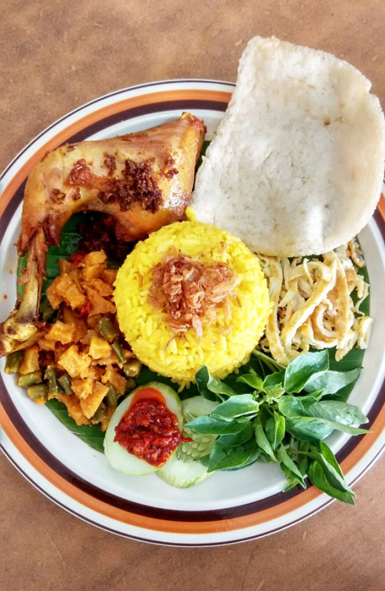 Nasi Kuning Indonesian Fragrant Turmeric Rice Resep Makanan