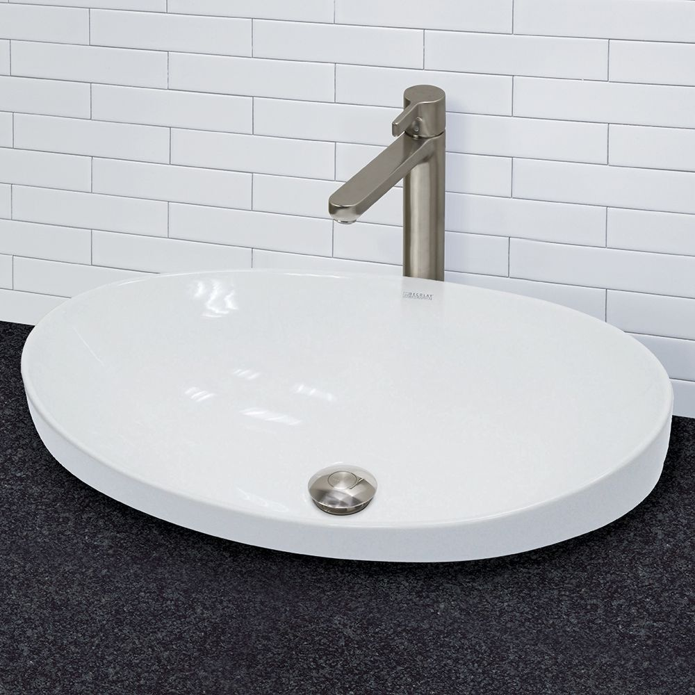 Decolav 14106Cwh Matt Muenster Exclusive White Abovecounter Stunning Sink Bowl Bathroom 2018