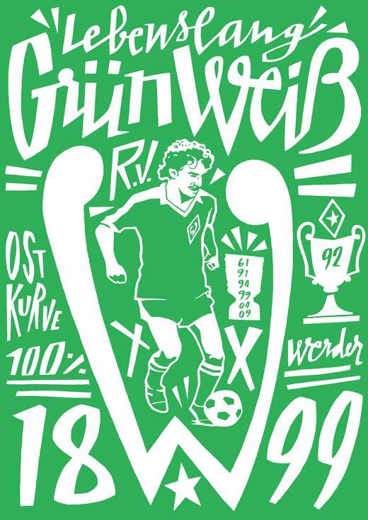 Bundesliga By Jorge Lawerta Via Behance Art Y Posters Football Design German Football League Soccer Art