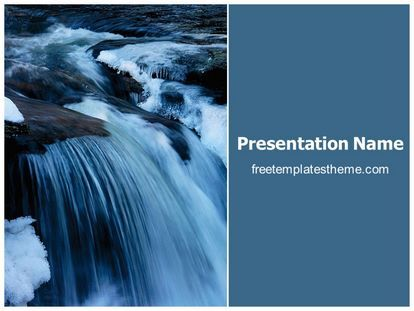 Download free waterfall powerpoint template for your powerpoint download free waterfall powerpoint template for your powerpoint presentation toneelgroepblik Image collections