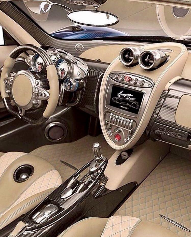 Car Interior Design: Pagani Huayra Interior