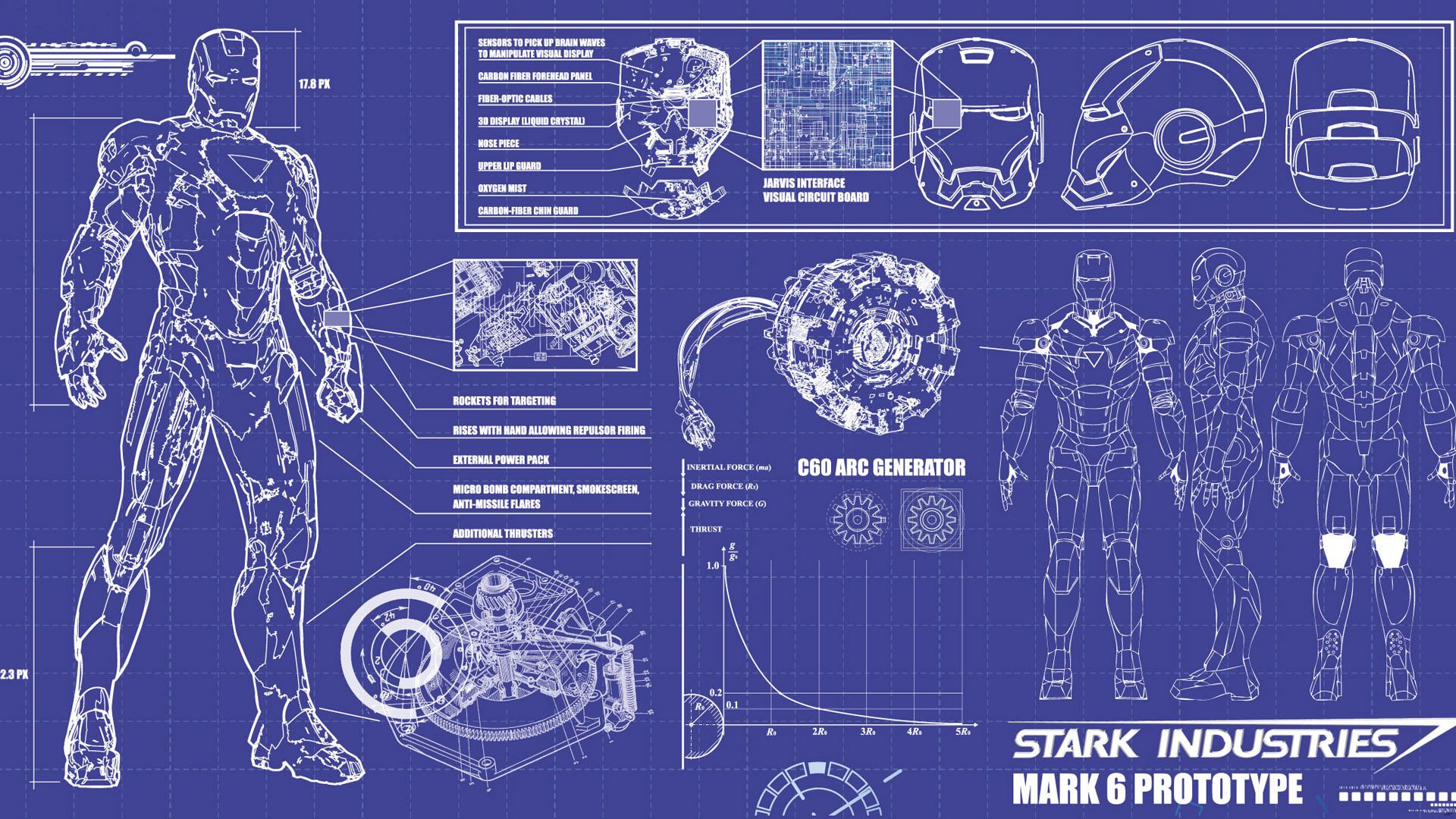 Iron Man Blueprint Hd Wallpapers Image Hd Wallpapers Image 3d