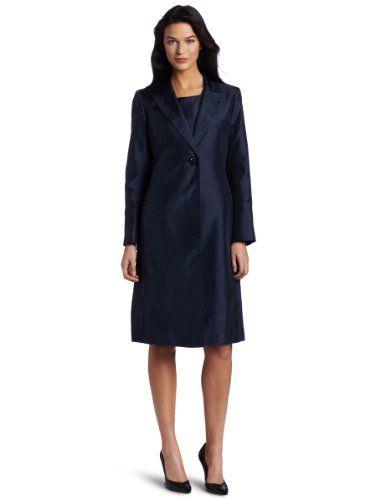Lesuit Women's Shantung Jacket Dress Suit $200.00 | Womens Suits ...