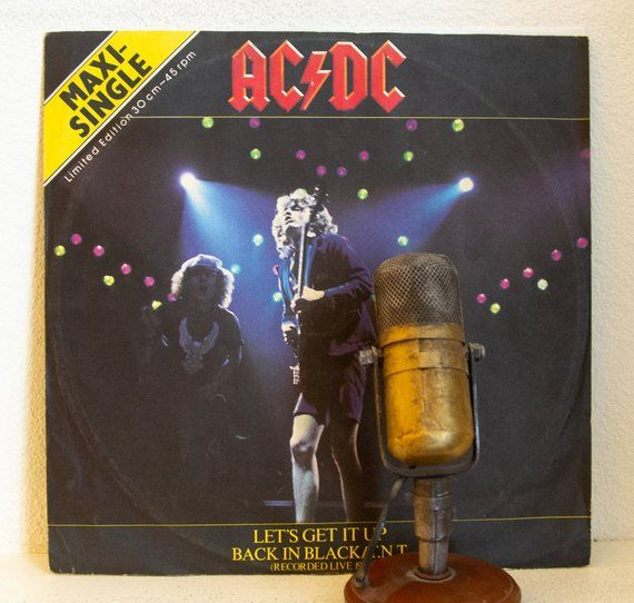 On Sale Ac Dc With Brian Johnson Collectable Limited Edition