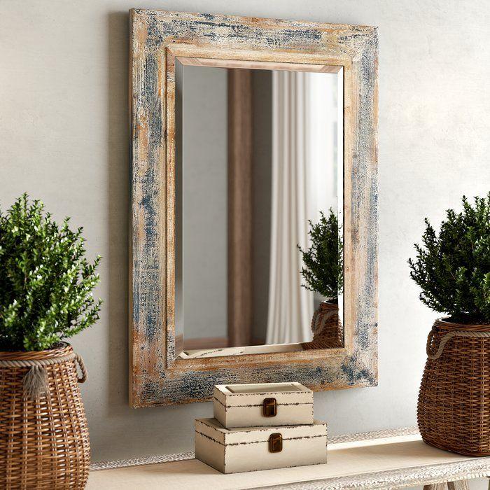 Janie Rectangular Wall Mirror | Modern mirror wall, Mirror ...